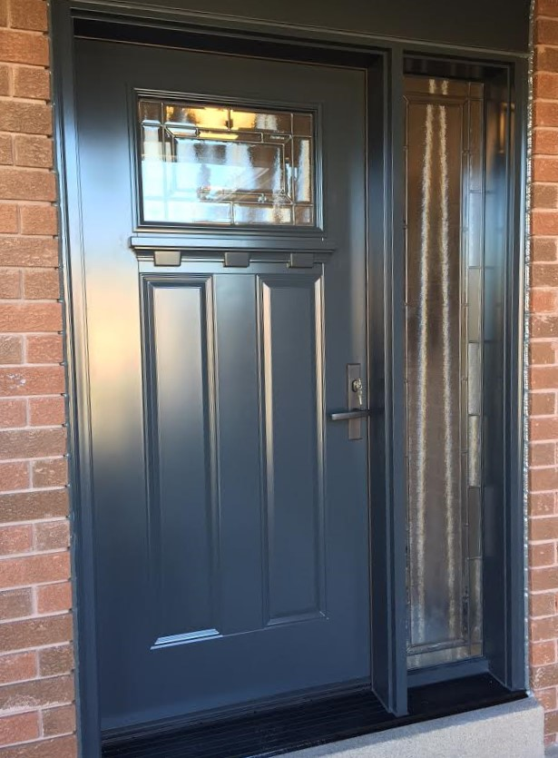 steel door system craftsman style with adelaid glass
